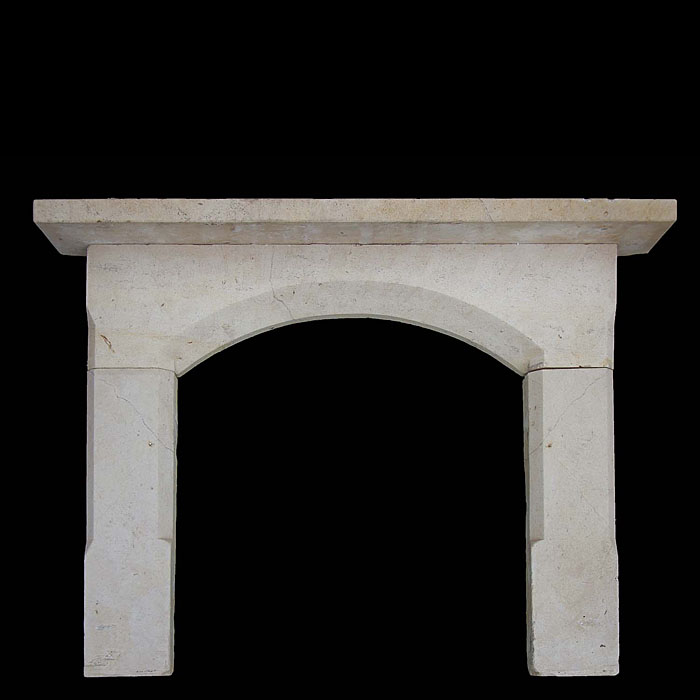 Antique Victorian 19th century Bath Stone fireplace
