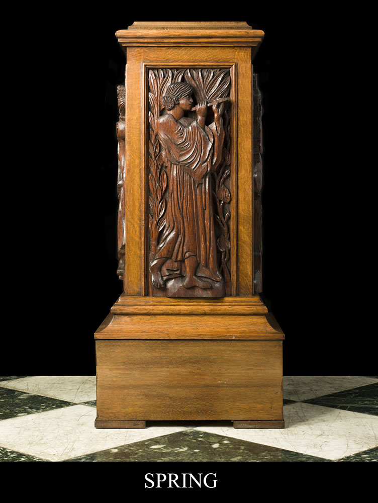 Arts And Crafts Furniture Carved Relief Panels