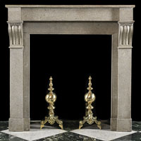 French Regency Antique Stone Fireplace | Westland London