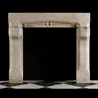 Arts And Crafts Gothic Stone Fireplace | Westland London