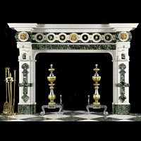 Georgian Palladian Antique Marble Fireplace | Westland London