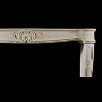 French Louis XV Stone Rococo Fireplace | Westland Antiques