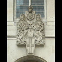 Bank Of England Sculpture Tableau Marble | Westland London