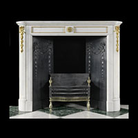 Small French Antique Marble Fireplace | Westland London