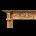 English Carved Pine Fireplace Mantel | Westland London
