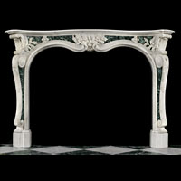 Rococo Statuary Marble Antique Fireplace | Westland Antiques
