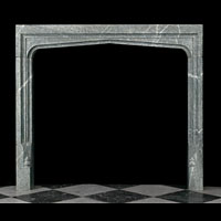 Tudor Style Marble Fireplace Ingrounds | Westland Antiques