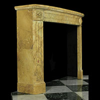 Sienna Marble Louis XVI Antique Fireplace | Westland London