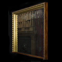 Pair Giltwood Antique Overmantel Mirror | Westland London