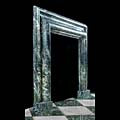 Green Marble Bolection Fireplace Mantel | Westland London