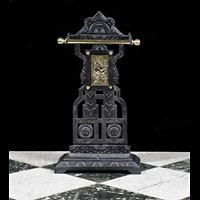 Edwardian Cast Iron Brass Stick Stand | Westland London