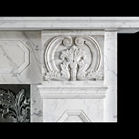 Greek Revival Regency Marble Antique Fireplace | Westland London