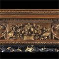 Georgian Carved Wood Antique Fireplace Mantel | Westland London