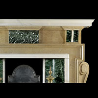 Palladian Stone And Marble Antique Fireplace | Westland London
