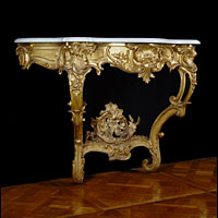Rococo French Louis XV Console Table | Westland London