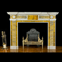 Georgian Statuary Marble Antique Fireplace | Westland London