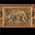 Carved Wood Palladian Antique Fireplace | Westland London