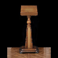 Gothic Revival Edwardian Oak Lectern | Westland London