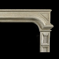 Antique Italian Baroque Stone Fireplace | Westland Antiques