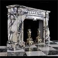 Antique Pavonazzo Marble Baroque Fireplace | Westland Antiques