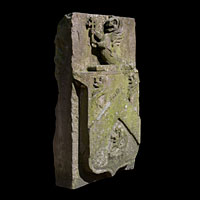 Antique Stone Heraldic Sculpture | Westland London