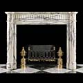 Arabescato Marble Louis XVI Antique Fireplace | Westland London