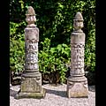 Blanchard Terracotta Pineapple Antique Pillars | Westland London