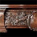 English Carved Oak Renaissance Fireplace Mantel | Westland