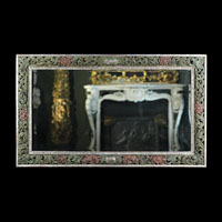 Large Framed Painted Antique Wall Mirror | Westland London