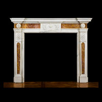 Neoclassical Statuary Marble Antique Fireplace | Westland London