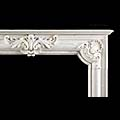French Carrara Marble Bolection Fireplace | Westland  Antiques