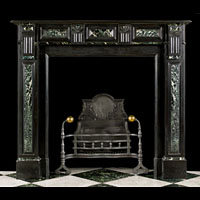 Belgian Black And Green Marble Fireplace | Westland Antiques