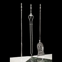 Regency Set Steel Antique Fire Tools | Westland London