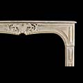 French Louis XV Stone Fireplace Surround | Westland Antiques
