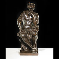 Antique bronze of Lorenzo de' Medici