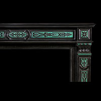 Belgian Black Marble Antique Fireplace | Westland London
