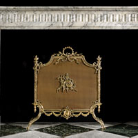 Arabascato Louis XVI Marble Fireplace | Westland London