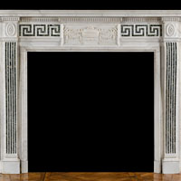 Georgian Style White Marble Antique Fireplace | Westland London