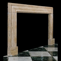 Large Marble Bolection Fireplace Mantel | Westland Antiques.