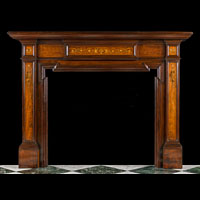 Edwardian Antique Wood Fireplace | Westland London
