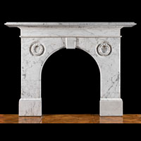 English Marble Antique Victorian Fireplace | Westland London