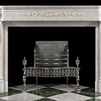 White Marble French Fireplace Mantel | Westland London