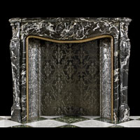 French Louis XV Marble Antique Fireplace | Westland London
