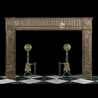 Brittany Marble Louis XVI Antique Fireplace | Westland London