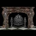 French Baroque Marble Fireplace Mantel | Westland Antiques