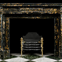 French Regency Portoro Fireplace Mantel | Westland London