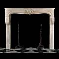 Antique Stone Louis XV Fireplace | Westland Antiques