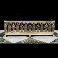 Regency Warwick Castle Fireplace Fender | Westland London