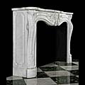 Rococo Louis XV Antique Marble Fireplace | Westland London