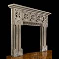 Aesthetic Movement Stone Fireplace Mantel | Westland Antiques